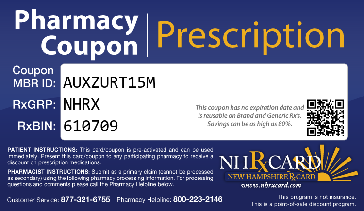 New Hampshire Rx Card - Free Prescription Drug Coupon Card